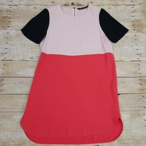 Zara Woman Color Block Dress